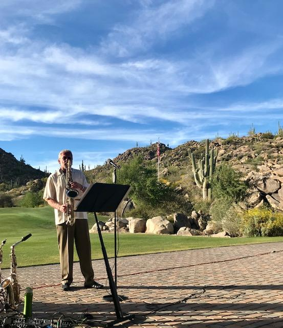 Stone Canyon Community Foundation - Chris Bickley, Master Jazz Saxophonist