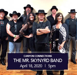 Stone Canyon Community Foundation - Canyon Connections - The Mr. Skynyrd Band